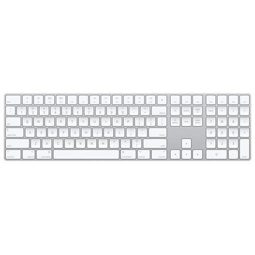 Apple Magic Keyboard with Numeric Keypad - teclado - español - plata