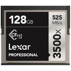 LEXAR TARJ MEM 128GB 3500X PRO CFAST