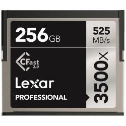 LEXAR TARJ MEM 256GB 3500X PRO CFAST
