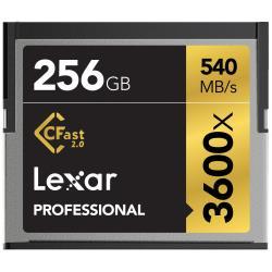 LEXAR 256GB 3600X PRO CFAST