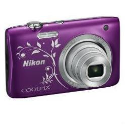 NIKON COOLPIX S2900 PURPLE LINE ART