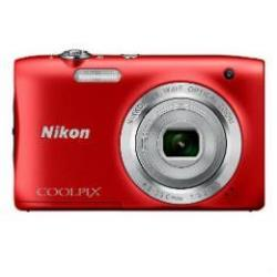 NIKON COOLPIX S2900 RED+ESTUCHE + SELFIE