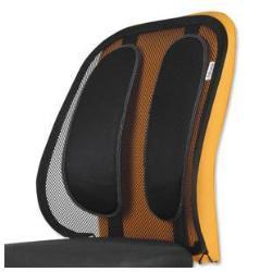 FELLOWES Respaldo ergonómico de rejilla Mesh Office Suites (soporte lumbar)