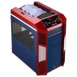 AEROCOOL XPREDATOR CUBE RED/BLUE STAR