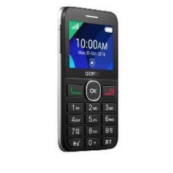 Alcatel One Touch 20.08G - negro, plata - 16 MB - GSM - teléfono móvil