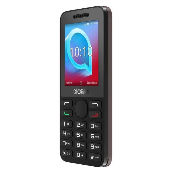 Alcatel 2038X - gris cacao - 3G - 128 MB - GSM - teléfono móvil