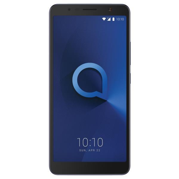 Alcatel 3C (5026D) - azul metálizado - 3G HSPA+ - 16 GB - GSM - smartphone