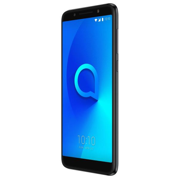 Alcatel 3X (5058Y) - negro metálico - 4G LTE - 32 GB - GSM - smartphone