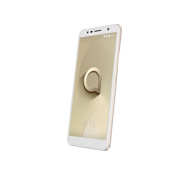 Alcatel One Touch 3C - oro metalizado - 3G HSPA+ - 16 GB - GSM - smartphone