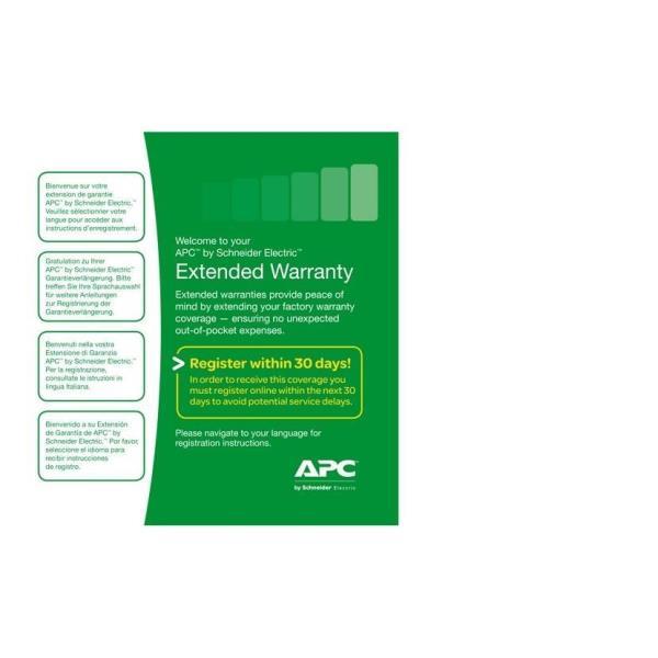 APC Extended Warranty Service Pack - soporte técnico - 3 años