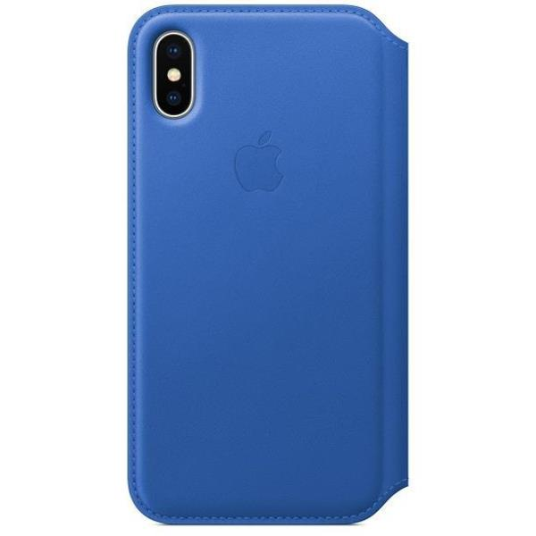 X Leather Folio - Electric Blue