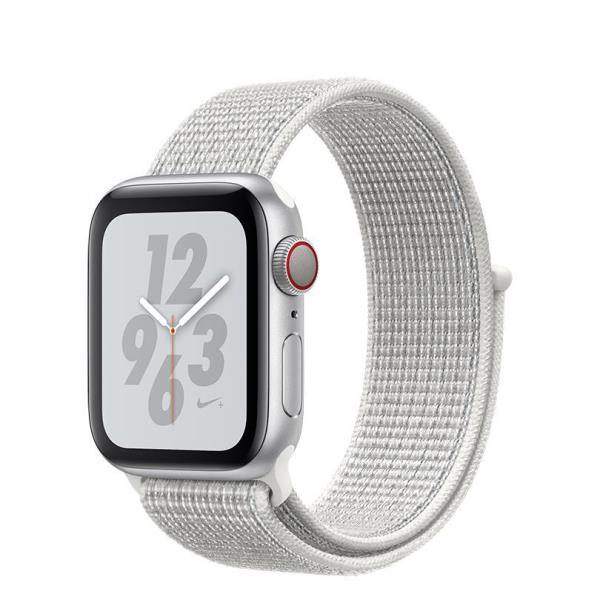 WATCH NIKE+ SERIES 4 GPS+CELL  CONS40MM SLVR ALUM WHT NIKE SPT LOOP IN