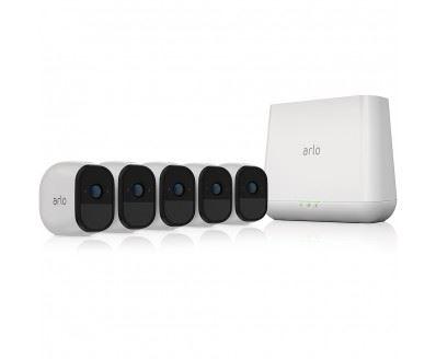 ARLO PRO 5 HD-CAMERA-SYSTEM    WSECRECHARG WRLS CAMERA AUDIO        IN