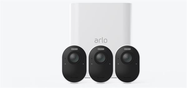 Arlo Ultra 4K UHD Wire-Free Security Camera System - gateway + camera(s) - inalámbrico