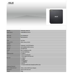 ASUS CELERON 3215U 2GB/16GB CHROME OS