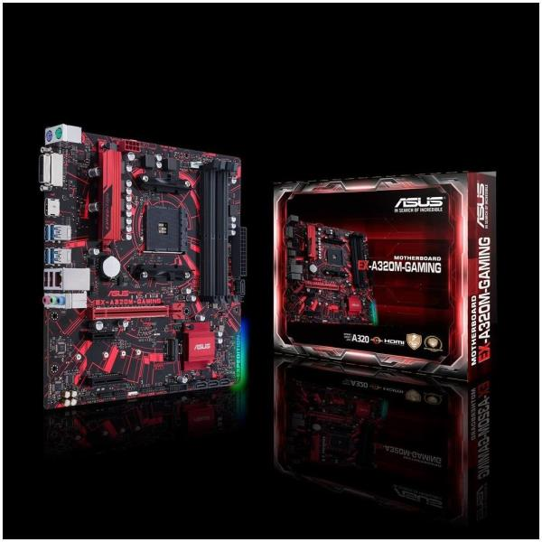 ASUS EX-A320M-GAMING - placa base - micro ATX - Socket AM4 - AMD A320