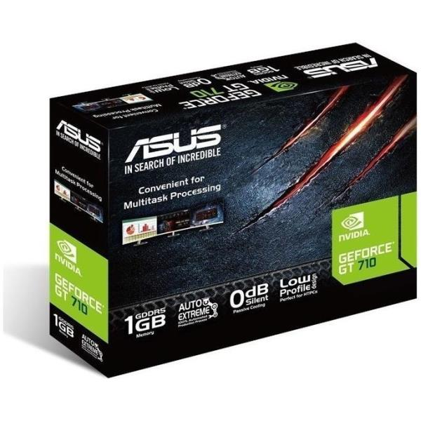 ASUS GT710-SL-1GD5-BRK - tarjeta gráfica - GF GT 710 - 1 GB