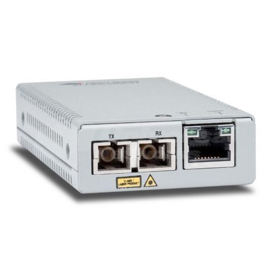 Allied Telesis AT MMC200/LC - conversor de soportes de fibra - 100Mb LAN