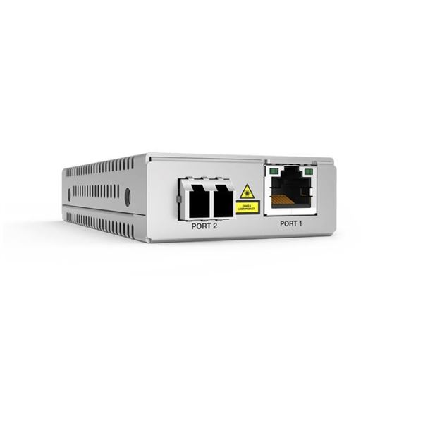 Allied Telesis AT MMC2000/SP - conversor de soportes de fibra - GigE
