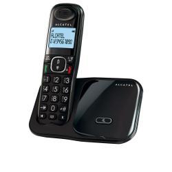 Alcatel XL280 - teléfono inalámbrico con ID de llamadas - de 3 vías capacidad de llamadas