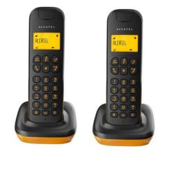 Alcatel D135 Duo - teléfono inalámbrico con ID de llamadas + auricular adicional