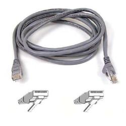 BELKIN CABLE SNAGLESS RJ45MM C6 2M GRIS BK