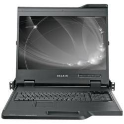 BELKIN 19  WIDESCREEN LCD RACKKVM 8PORTS