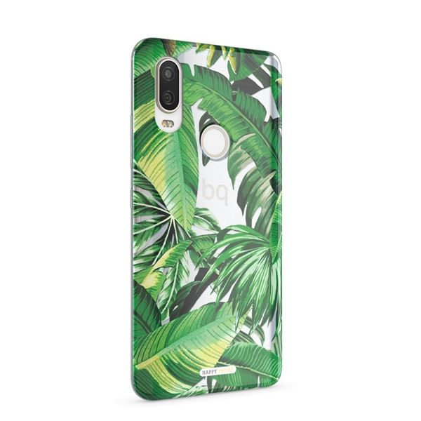 Aquaris X2/X2 Pro Bubble Case Palm Tree by Happy Friday