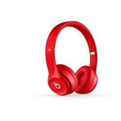 BEATS SOLO2 WIRELESS HEADPHONES RED