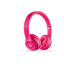 BEATS SOLO2 ON-EAR HEADPHONES PINK