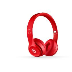 BEATS SOLO2 ON-EAR HEADPHONES RED