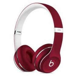 BEATS SOLO2 ON-EAR LUXE EDITION RED