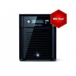 BUFFALO TECHNOLOGY NAS 4 BAHIAS 4X3TB 12TB CON DISCOS WESTERN DIGITAL RED