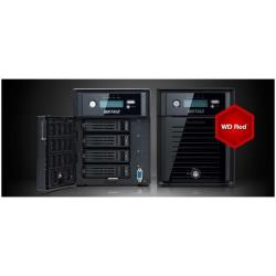 BUFFALO TECHNOLOGY NAS 4 BAHIAS 4X4TB 16TB CON DISCOS WESTERN DIGITAL RED