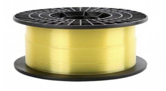 FILAMENTO PLA  IMPRESORA 3D-GOLD TRANSLUCIDO AMARILLO 1.75MM 0.5KG