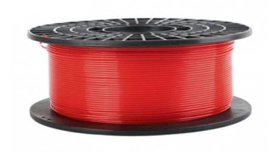 COLIDO 3D-GOLD Filamento Translúcido-X PLA 1.75mm 1 Kg Rojo
