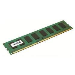 CRUCIAL 2GB DDR3 1600  CL11 UNBUFFERED