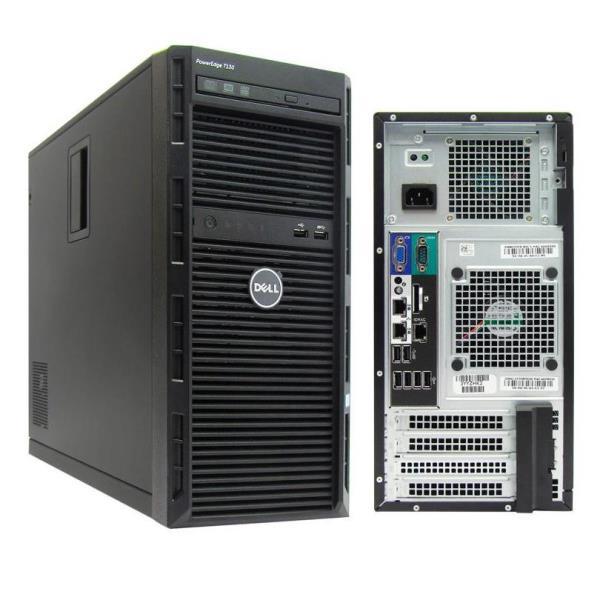 Dell PowerEdge T130 - MT - Xeon E3-1220V6 3 GHz - 4 GB - 1 TB