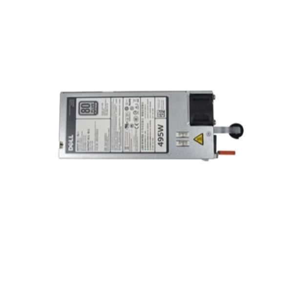 Dell - fuente de alimentación - conectable en caliente / redundante - 495 vatios
