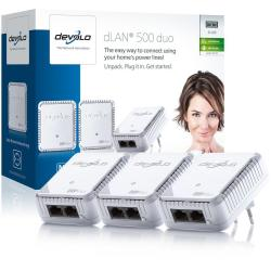 DEVOLO DLAN 500 DUO NETWORK KIT PLC
