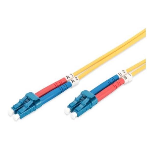 DIGITUS cable de interconexión - 3 m - amarillo