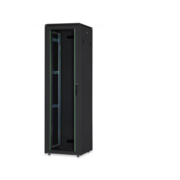 26U network rack  Unique 1342x600x800 mm  color black (RAL 9005)
