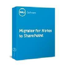 DELL MIGRATOR FOR NOTES TO SHAREPOINT PER DATABASE  PREMIER EDITION PACKAGE INCLUDES FIRST 100 DATAB