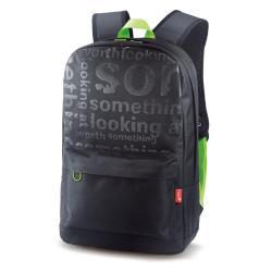 GENIUS GB-1500X BLACK+GREEN BACKPACK
