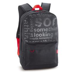 GENIUS GB-1500X BLACK+RED BACKPACK