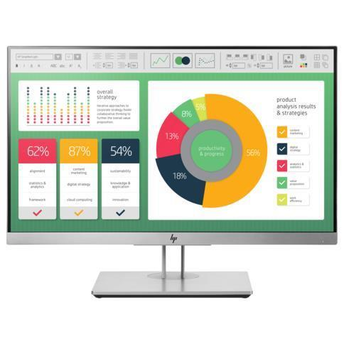 "HP EliteDisplay E223 - monitor LED - Full HD (1080p) - 21.5"""