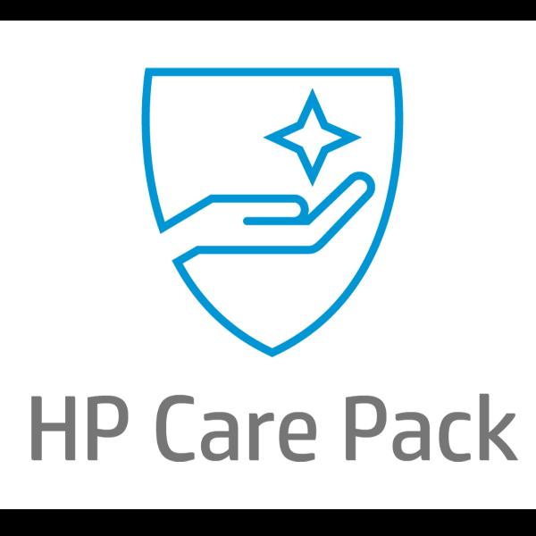 HP Next Business Day Hardware Support for Travelers with Defective Media Retention - ampliación de la garantía - 3 años - in situ