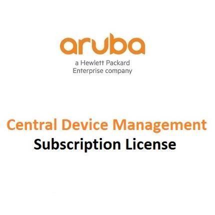 HPE Aruba Central - licencia de suscripción (1 año) - 1 token