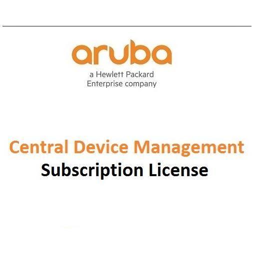 HPE Aruba Central - licencia de suscripción (3 años) - 1 token