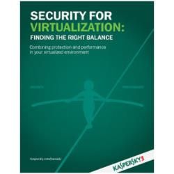 SECURITY FOR VIRTUALIZATION-SERVER